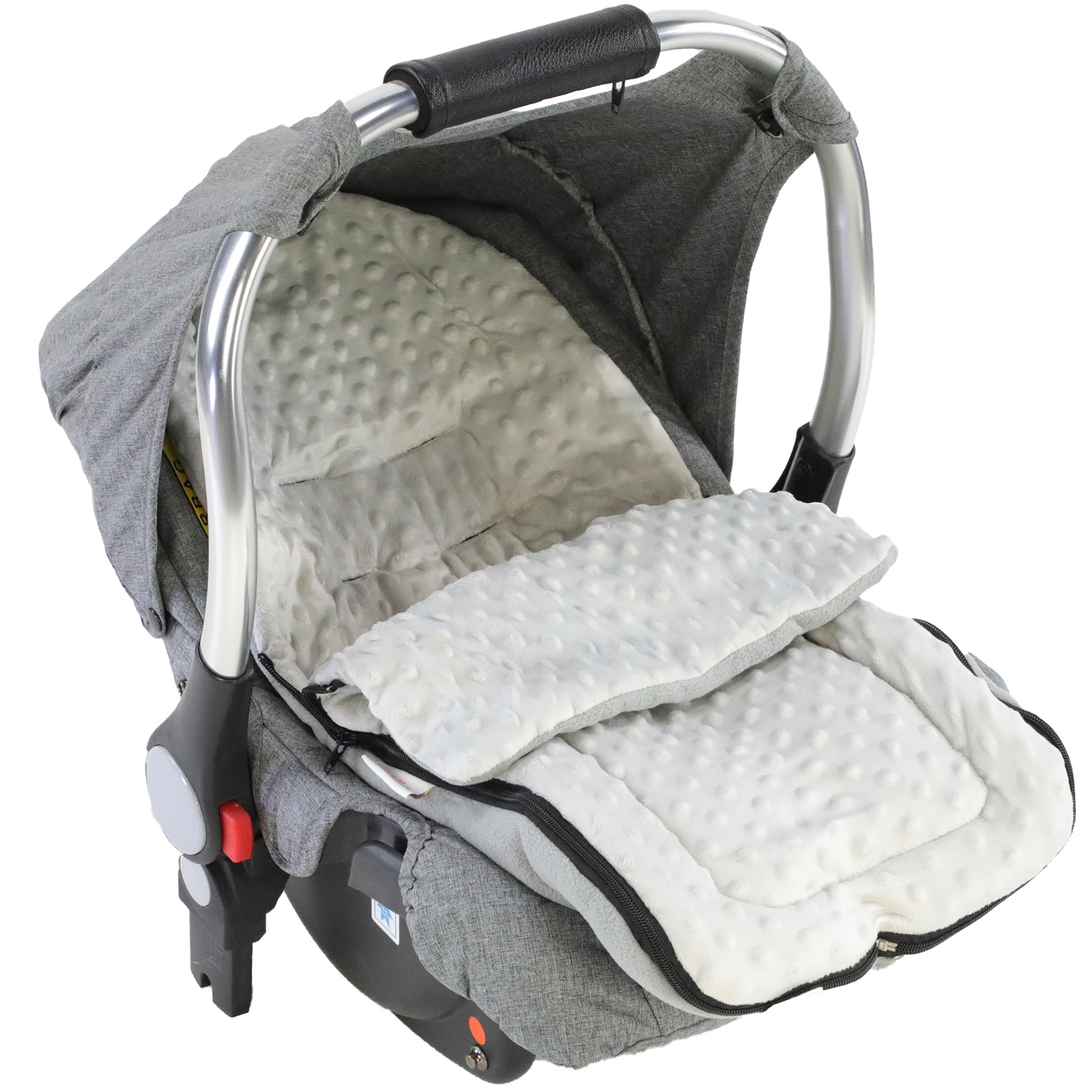 Dimple Car Seat Footmuff Cosy Toes Compatible with Nuna