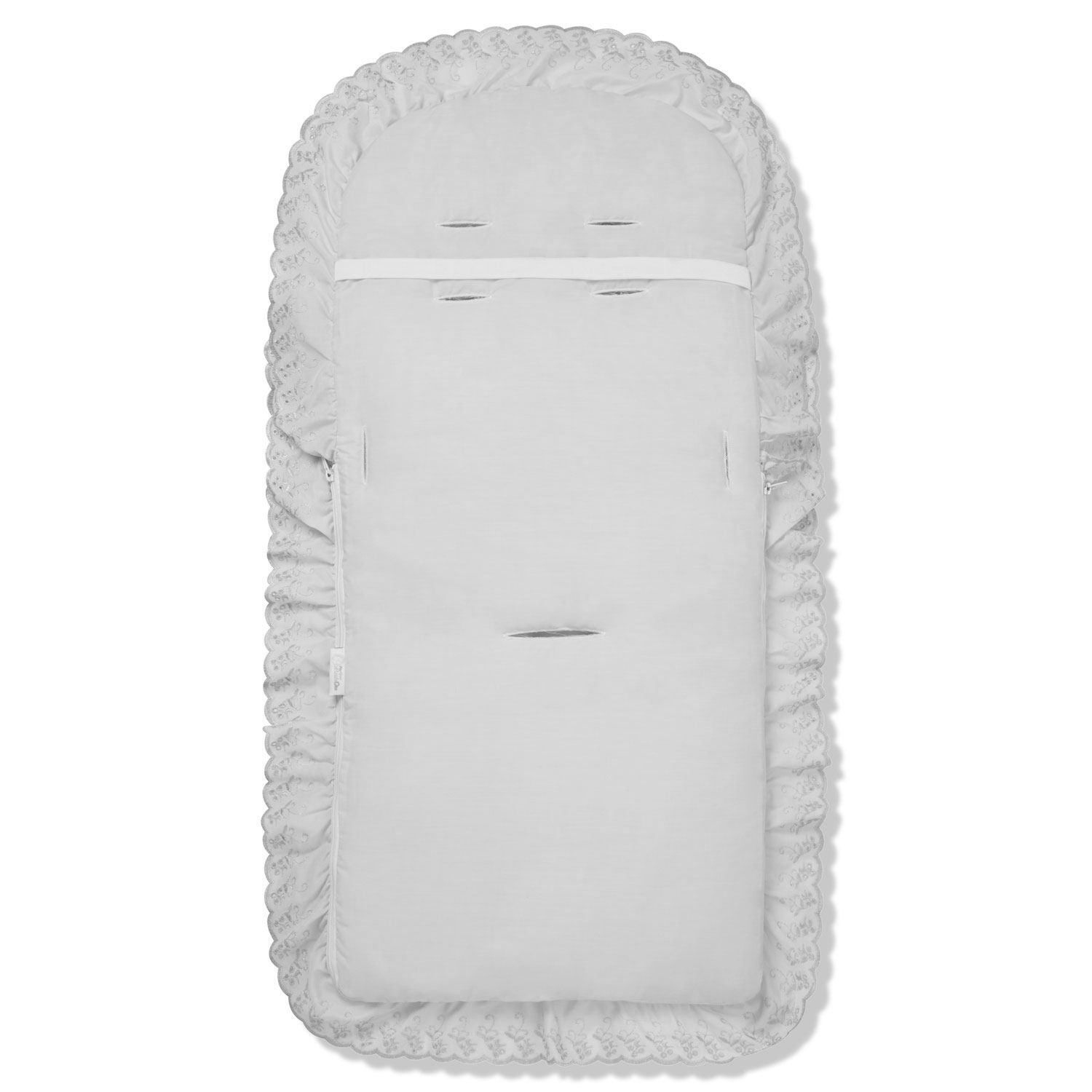 Broderie Anglaise Pushchair Footmuff Cosy Toes Compatible with Bugaboo