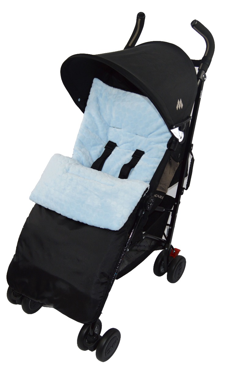 Marshmallow Pushchair Footmuff Cosy Toes Compatible with Silver Cross