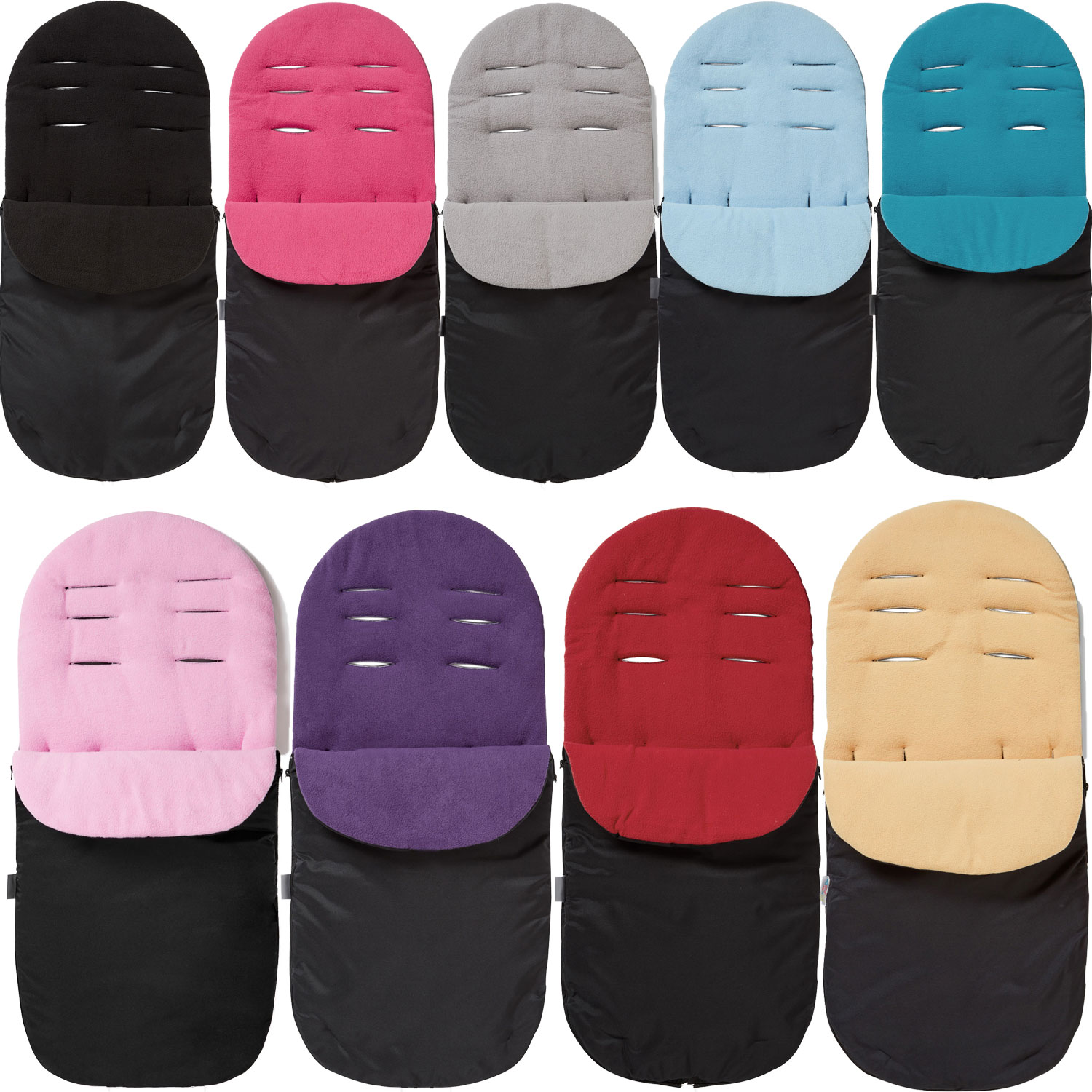 Fleece Footmuff Cosy Toes Compatible with Hauck