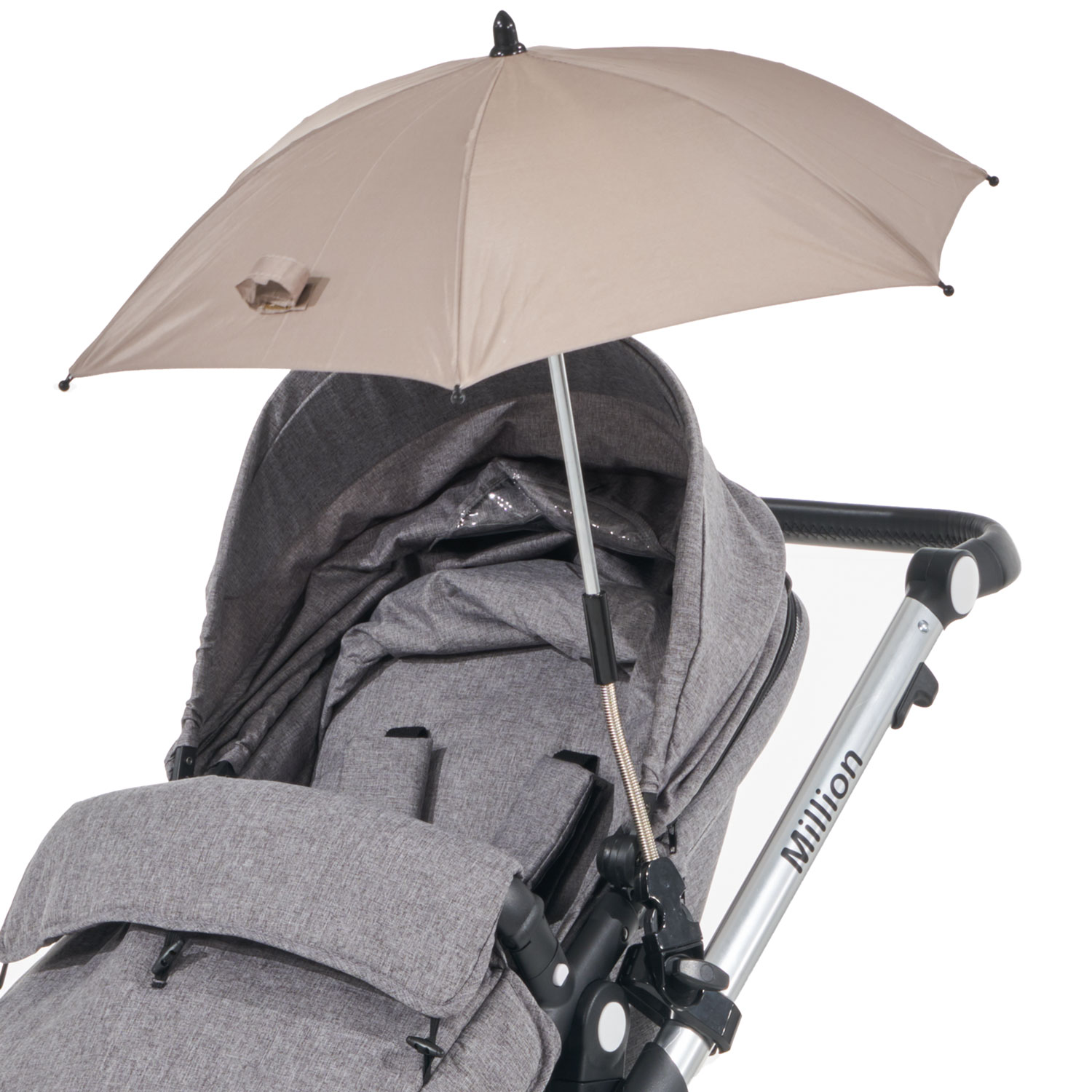 Baby Parasol Umbrella Compatible with Easywalker Canopy Protect Sun /& Rain