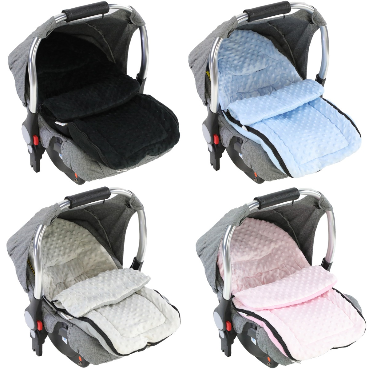 Cosy Toes Compatible with All Car Seats Dark Pink Car Seat  Footmuff