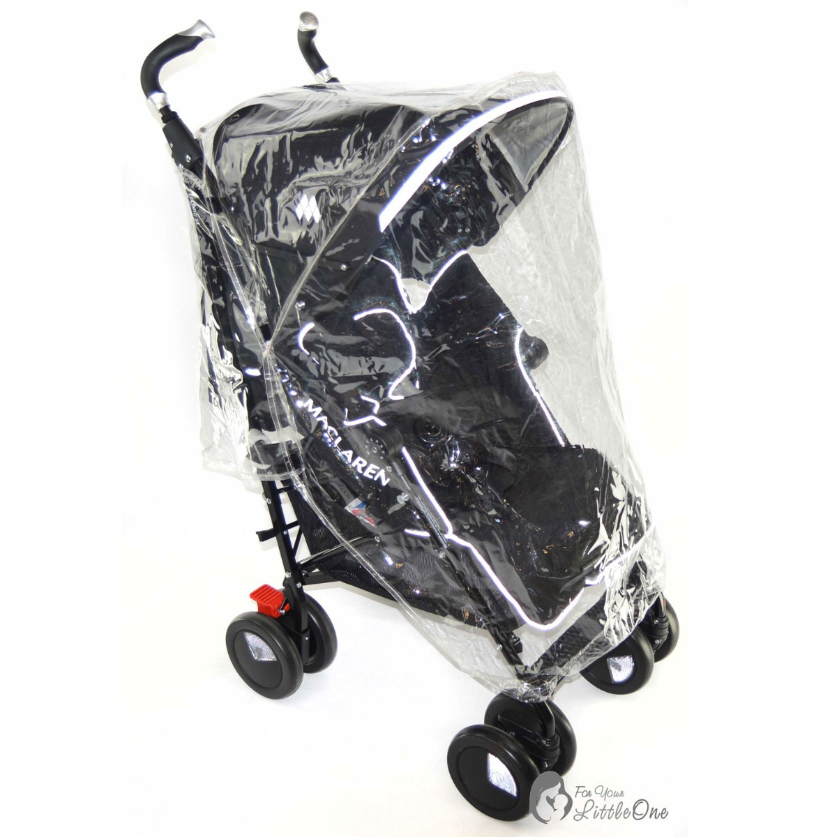 Pushchair Raincover Compatible with Hauck